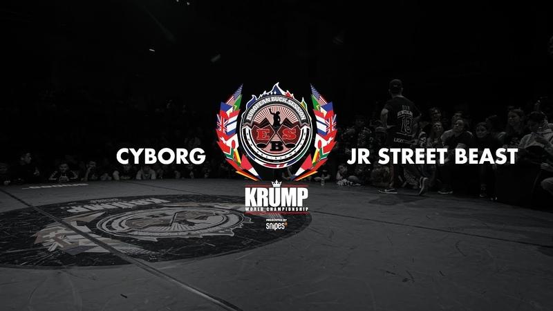 Cyborg vs JR Street Beast Male Semifinal EBS KRUMP WORLD CHAMPIONSHIP 2018