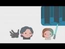 Звёздные Войны Пробуждение Силы в пересказе Emoji - aneka.scriptscraft 720p