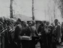 Архивная кинохроника Пасха Царь Николай Второй христосуется с воинами