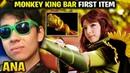 Ana Windranger Monkey King Bar First Item