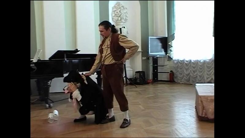В.А.Моцарт-Свадьба Фигаро.Ария Фигаро (Non piu andrai)-П.Кутьин и Л.Ефремова