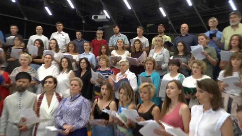 Цой Солнце Сводный хор под управлением Бориса Тараканова