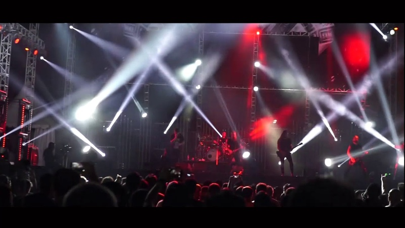 Inflames - the end LIVE AT HAMMERSONIC 2018