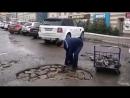 Ремонт дорог по технологии мозаика