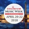 Colisium Music Week 2018   Питер, 20-22 апреля
