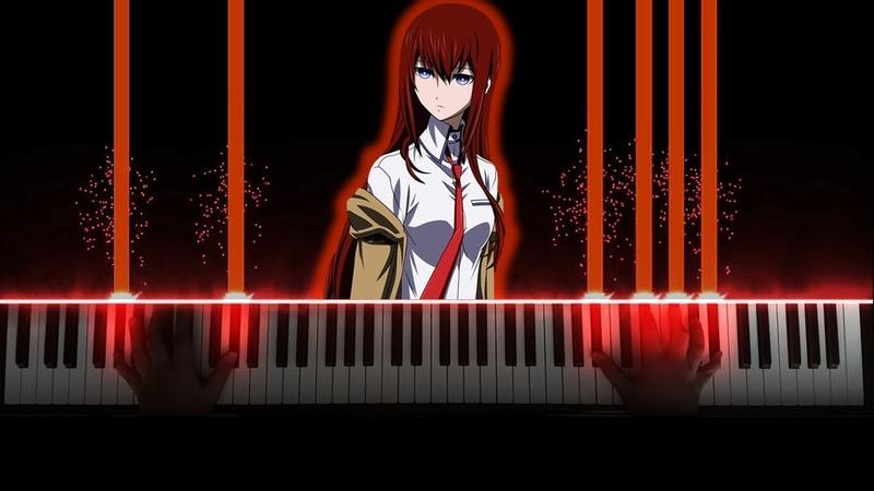 [Steins;Gate 0 Episode 21 OST] Skyclad Observer / Sky Clad no Kansokusha - Itou Kanako (Piano)