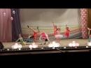 Цирковая студия-Ксюша учавствует в выступлении