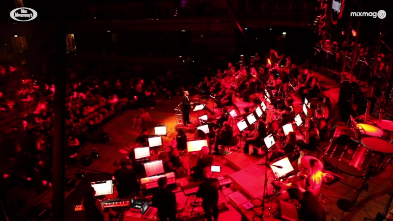 60 piece orchestra cover house classics Miss Moneypenny Proms!