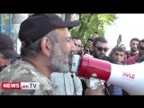Обращение Никола Пашиняна к народу Еревана