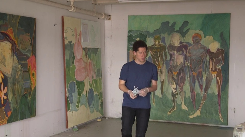 Michael Armitage In the Studio 2017