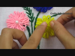 Hand Embroidery,Easy Hand Embroidery Tricks,New tricks tips,Crafts Embroidery