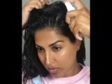 Маска для волос с алоэ вера и имбирем