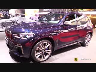 2019 BMW X5 M50d 400hp - Exterior and Interior Walkaround - Debut at 2018 Paris Motor Show