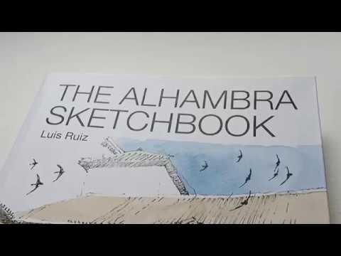 THE ALHAMBRA SKETCHBOOK листаем книгу Luis Ruiz Padron