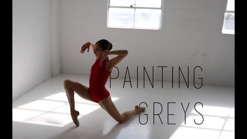 Painting Greys (Emmit Fenn) - Contemporary Ballet - ALEXANDRA HOFFMANN - created by EVA NYS