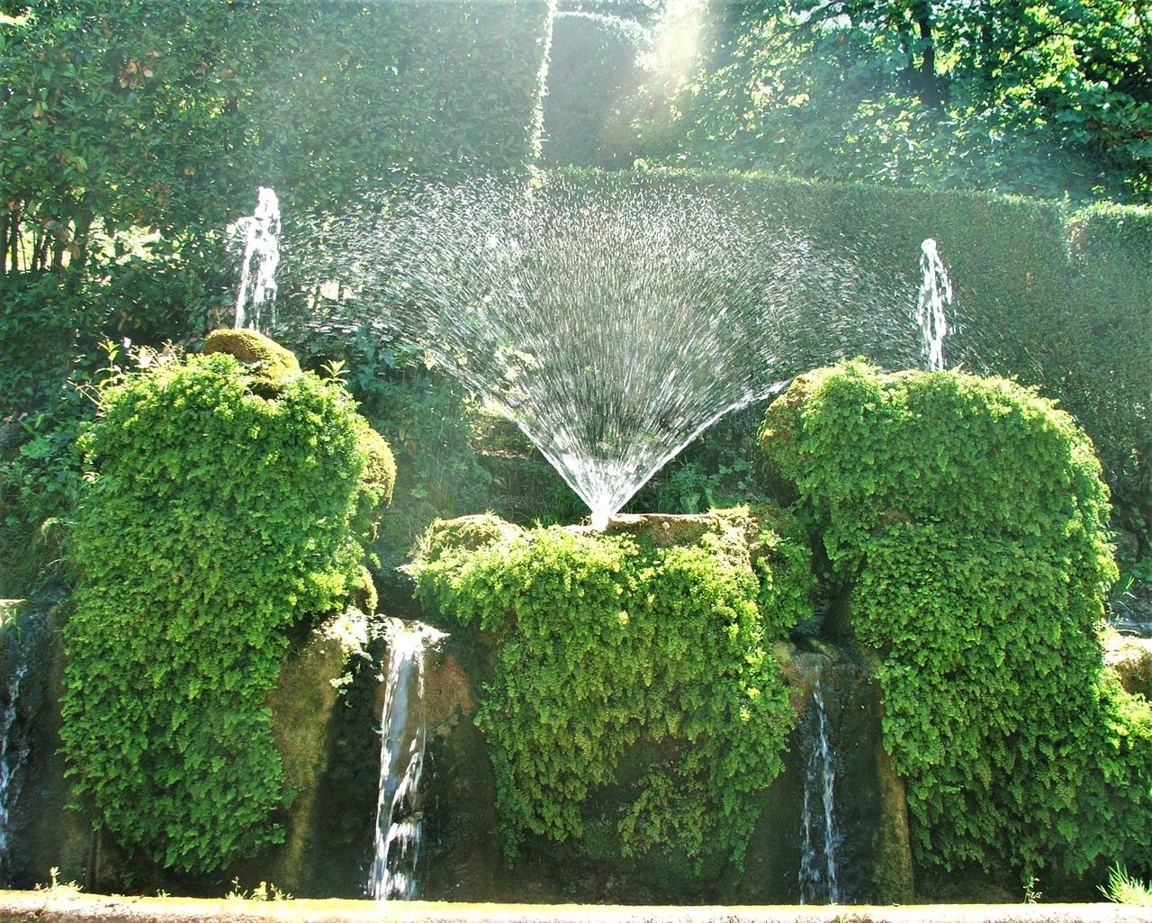 Самая красивая вилла в мире - вилла д'Эсте Тиволи, виллы, фонтан, парка, Фонтан, после, смерти, сложный, самой, вилле, войны, Ипполито, настолько, д&039Эсте, весьма, фонтанты, кстати, Главный, работают, главная