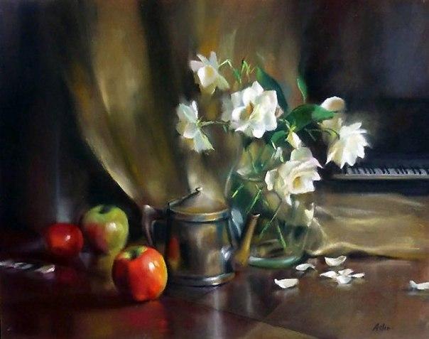 Художник Mary Aslin родилась в Salt Lake City в Орегоне, в 1962 году.