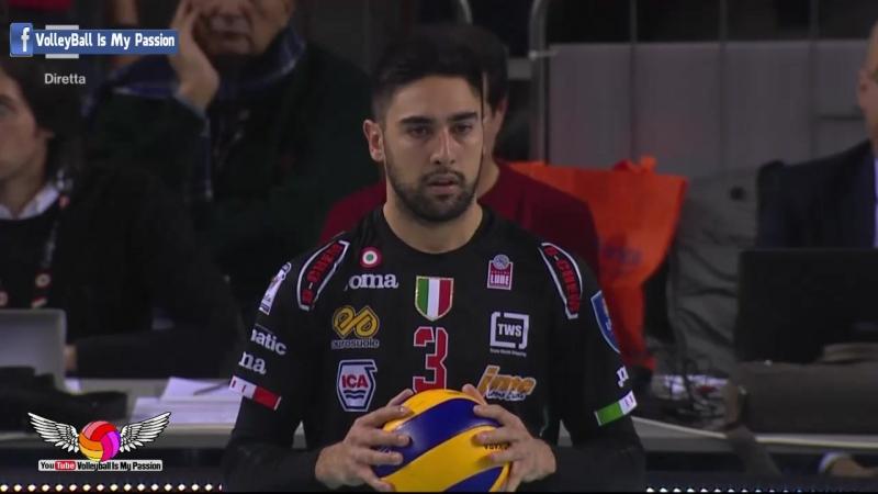 HD Civitanova vs Modena 21 01 2018 Italia SuperLega UnipolSai A1 Volleyball 20172018