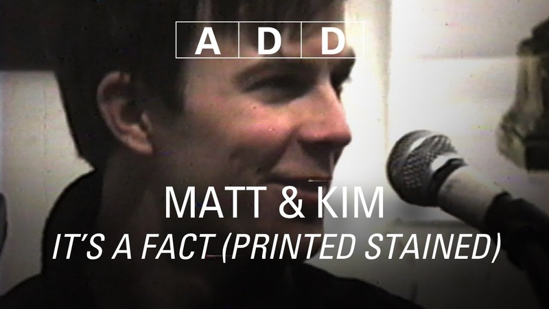 Matt Kim - It's a Fact (Printed Stained)
