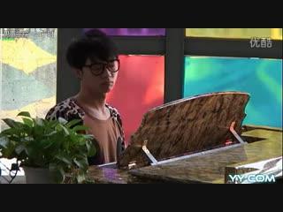 [Super Boy 2013] Hua Chenyu репетирует песню без слов
