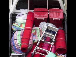Сколько канистр вы найдете в багажнике?