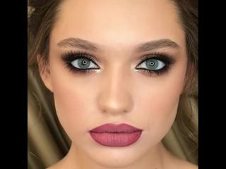 Очень выразительный макияж 💗💋