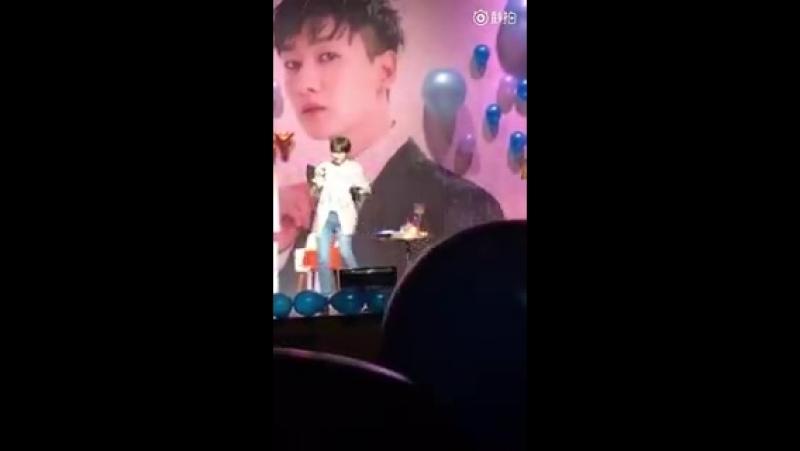 180404 Eunhyuk Birthday Party - Hyuk baila Gashina [LSY_LHJ]