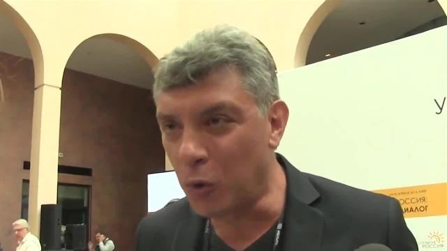 Борис Немцов - Он ёбнутый, Владимир Путин, чтоб вы поняли