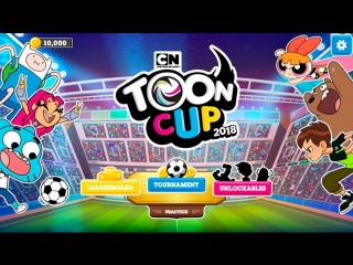 Toon Cup 2018 - Robin, Cyborg and Starfire hit the Soccer Field this Year (Cartoon Network Games)