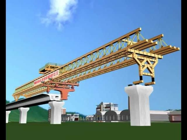 Launching Gantry for MRT construction
