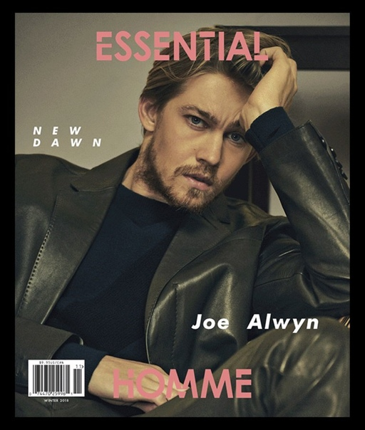 Joe Alwyn Essential Homme, Winter 2018.