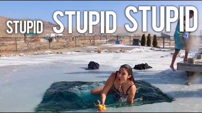 Polar Plunge! DON'T TRY THIS AT HOME