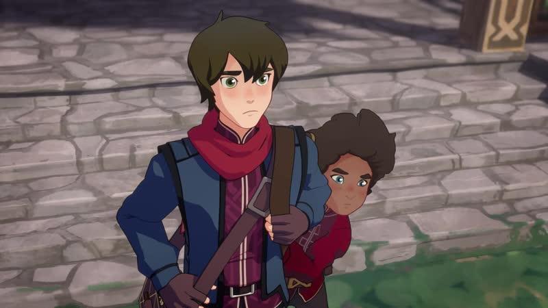 The Dragon Prince / Принц Дракон - 4 серия [Озвучка: Eva, Lёlik_time, Veda, Akkakken Berofu (AniMaunt MVO)]