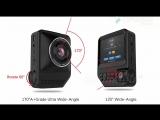 2.3 Car DVR Camera Dual Lens Full HD 1080P 170 Degree Dashcam Video Recorder