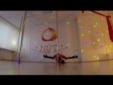 Pole dance exotic в dance studio nut.