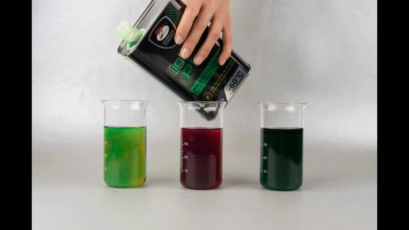 Жидкость в ГУР Glow PSF совместима со всеми типами жидкости