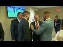 Владимир Путин и Конор Макгрегор встретились на ЧМ 2018