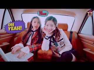 TWICE - BRAND NEW GIRL MV [русс.саб]