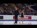 European Championships 2018. Pairs - FP. Lola ESBRAT / Andrei NOVOSELOV