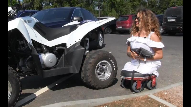 Попала в аварию, лишилась обеих ног, пересела на квадроцикл