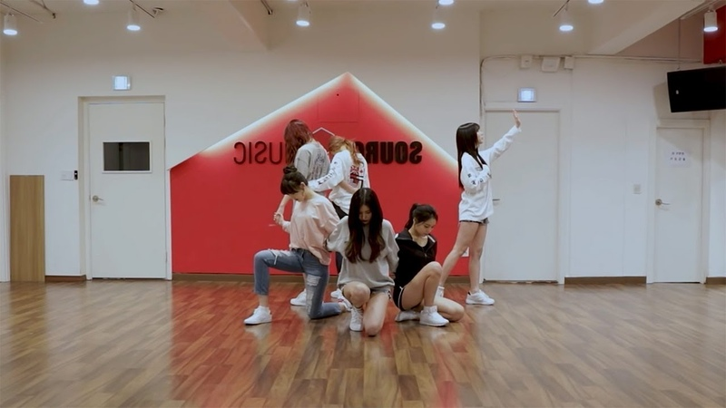 GFRIEND 여자친구 밤 Time For The Moon Night Dance Practice Mirrored