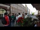 15 06 18 7 08 утра Старый Арбат Чемпионат мира начался иностранцы гуляют