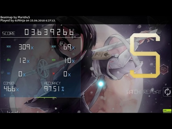 ChAngE [Seni's InsAnE] miwa 97.51% acc and 141pp