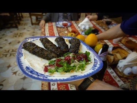 Ресторан с Национальной Азербайджанской кухней.