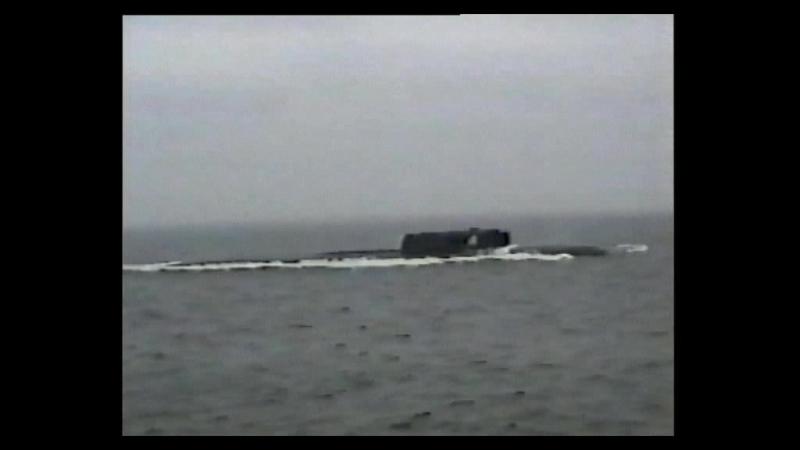 Проект-949: Одиссея атомной подводной лодки