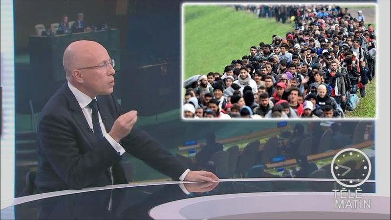Ciotti : «Le pacte de Marrakech est un véritable scandale démocratique.» (F2, 10/12/18, 7h46)