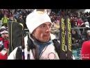 20.02.18 Антон Бабикова после смешанной эстафеты Пхенчхана. Биатлон, Олимпийские Игры 2018.