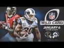 NFL 2017-2018 | NFC Wild Card Round | Atlanta Falcons vs Los Angeles Rams | (ENG)