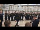 Вручение медалей кадетам.