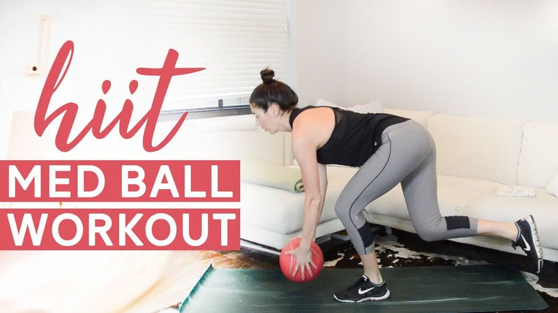 Med Ball HIIT Workout (18 Minutes)